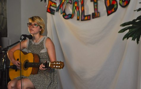 Students entertain at Excalibur Coffeehouse