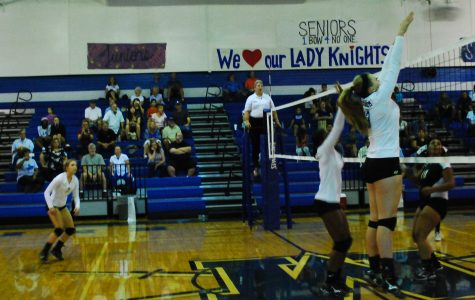 Sophomore Andrea Janss out for volleyball season