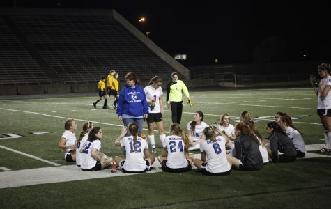 For two unlucky Lady Knights, varsity soccer season ends before it starts
