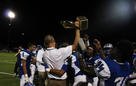 Knights ambush Trojans to reclaim Taco Shack trophy