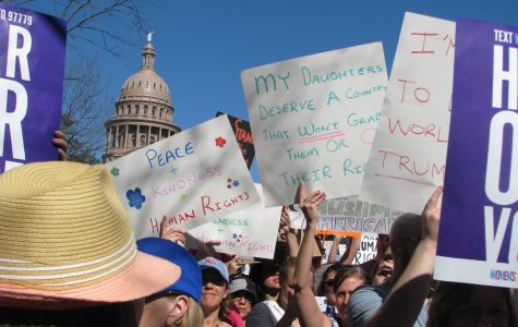 Austin women's march draws up to 50,000