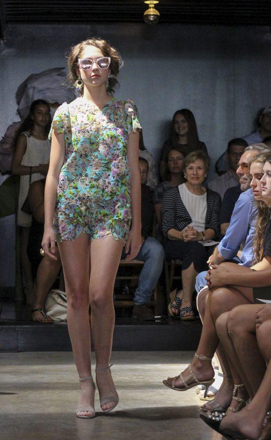 Model: Julia Kay Smith. Designer: Gaby Fagelman.