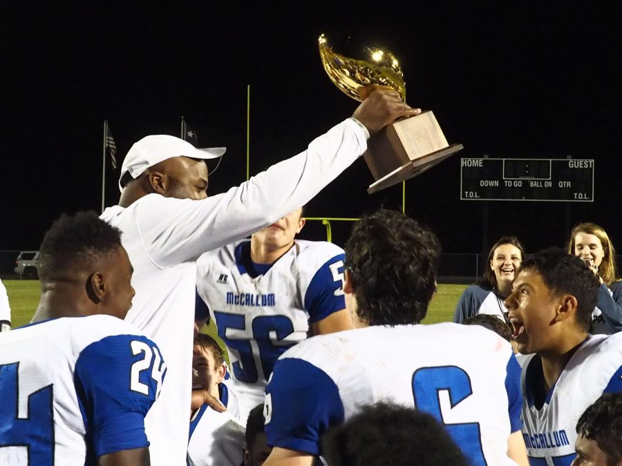 Knights ride strong second half to bi-district playoff win