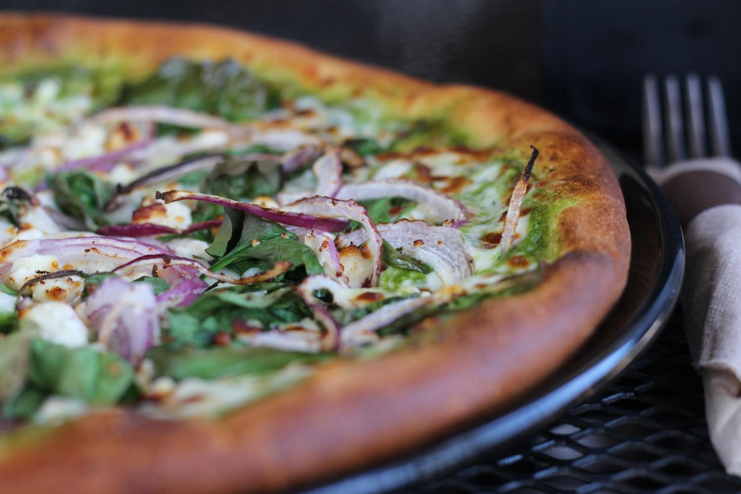 Zilker Love specialty pizza from Austin Terrier. Photo by Madison Olsen.