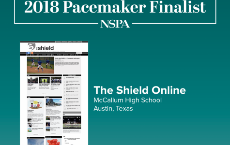 Shield named 2018 Pacemaker Award finalist