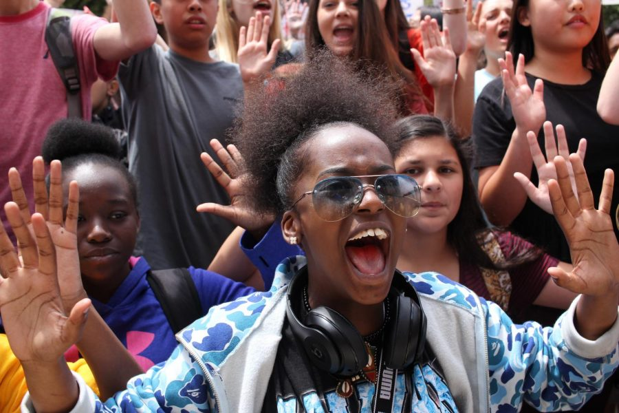 Students storm Capitol to ask for safer schools
