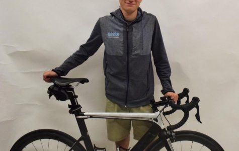 Cyclist Eli Husted on the road to recovery