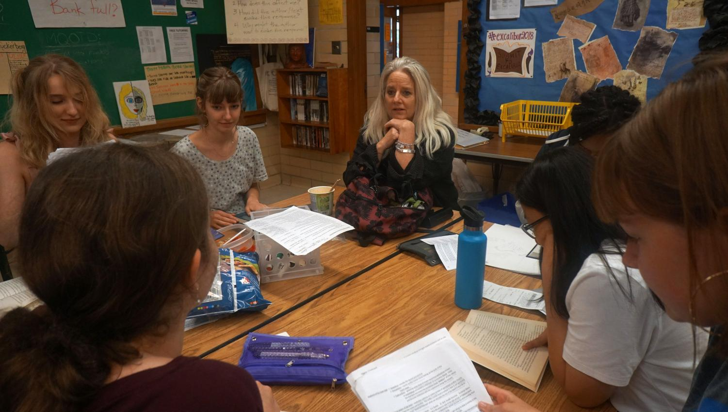 On Ramps is a rhetoric-based junior English class that is more focused on writing, rather than reading literature like other English classes. It also offers UT credit, and the students get taught by English teacher Ms. Adamson and a UT professor.