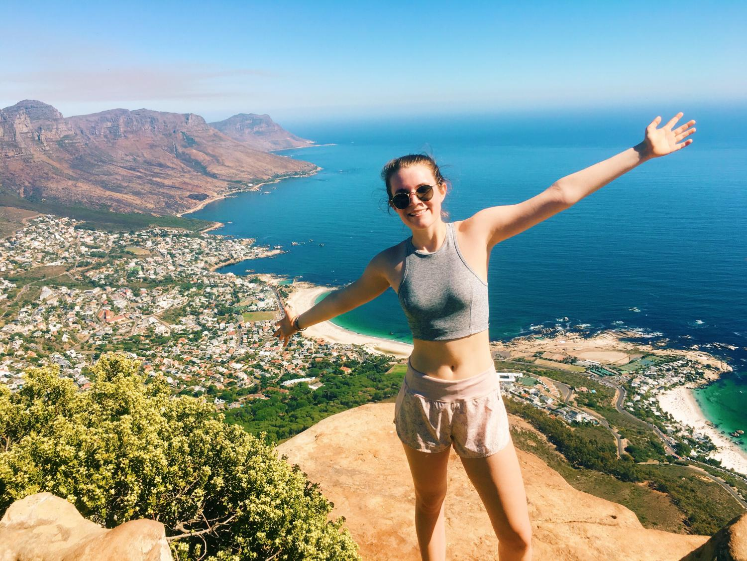 On our first day in South Africa, my family climbed up Lion's Head Mountain, which boasted amazing views of the beaches below.