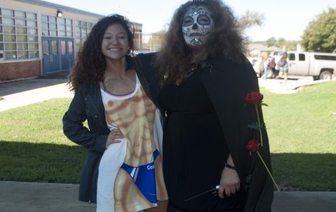 Students get in the spirit of Halloween