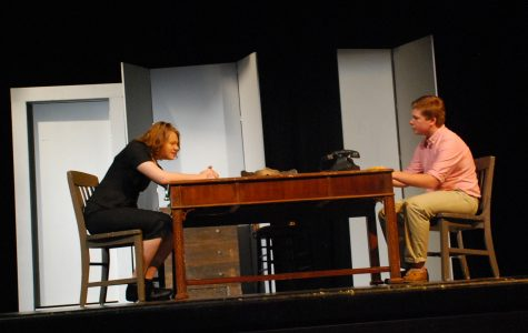 Juniors take on this winter's one-act play series, 'The Rep,' with two works