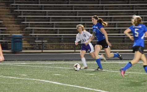 Lady Knights soccer takes down district rival LBJ in first meeting of the season