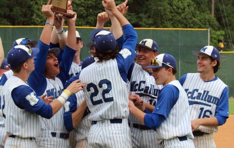 Baseball team avenges only district defeat to win sixth straight District 5A title
