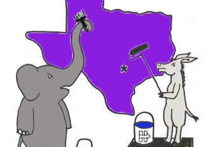 Turning Texas purple