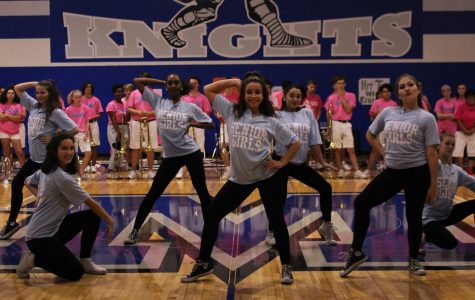 Spotlight shines on Blue Brigade senior