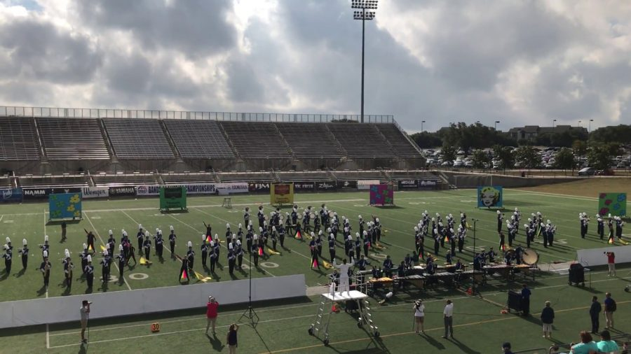 McCallum competes in Bands of America
