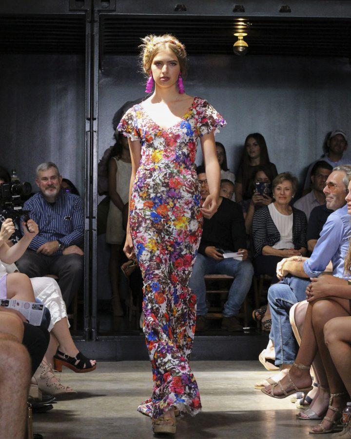 Model: Alabel Chapin. Designer: Gaby Fagelman.