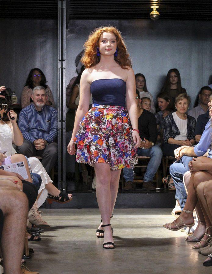 Model: Amanda Phares. Designer: Gaby Fagelman.