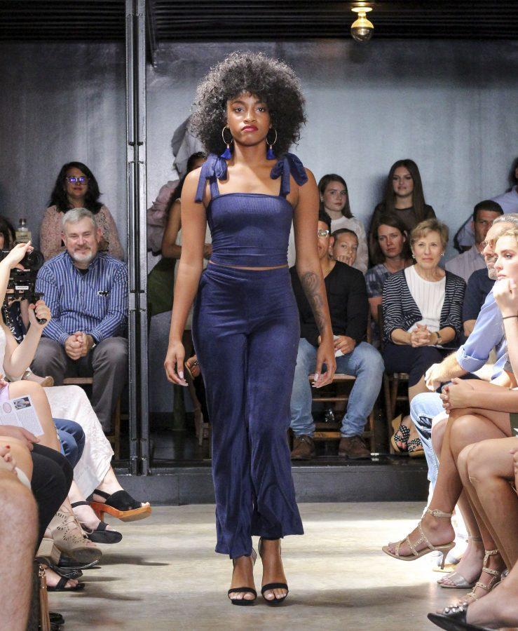Model: Amber Fors. Designer: Gaby Fagelman.