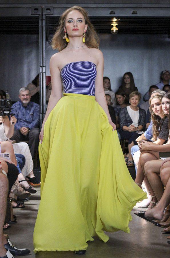 Model: Eva Nobels. Designer: Gaby Fagelman.