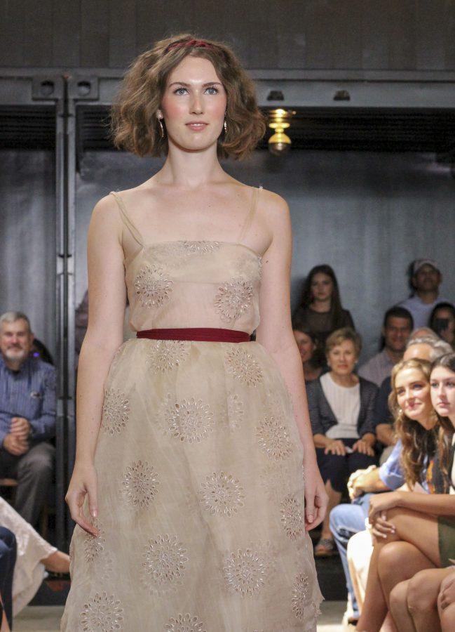 Model: Austen Juul-Hansen. Designer: Gaby Fagelman.