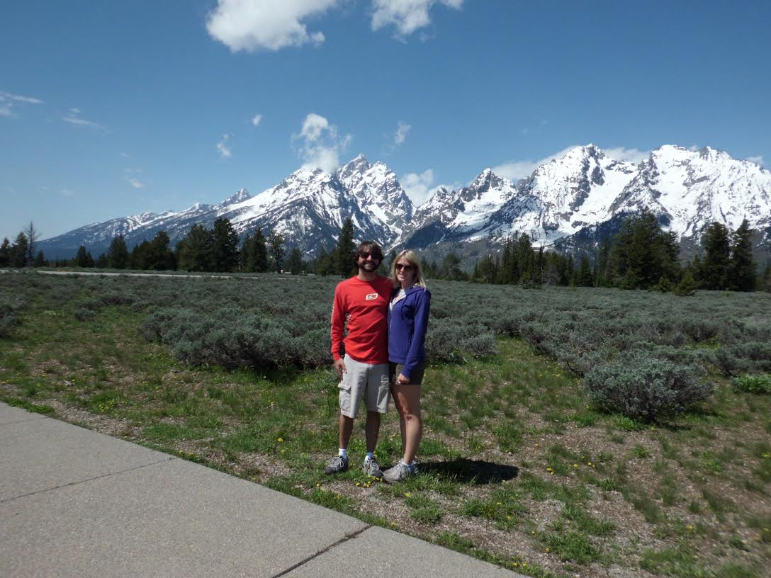 Clifford Stanchos and his wife Madeline recently visited Grand Teton National Park in Wyoming. Photo supplied by Clifford Stanchos.
