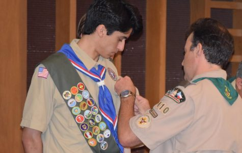 Six Boy Scouts share Eagle Court of Honor ceremony