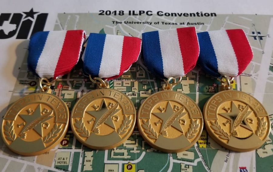 MacJournalism+captured+four+Tops+in+Texas+Awards+at+the+2018+ILPC+Spring+Convention+at+UT+on+Saturday.+