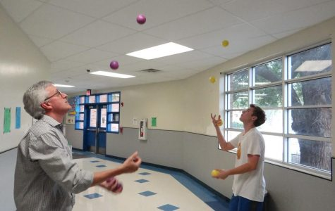 Popular math teacher juggles many roles