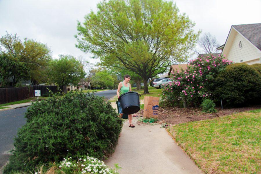 Sarah Slaten, Gardening Day, 2018