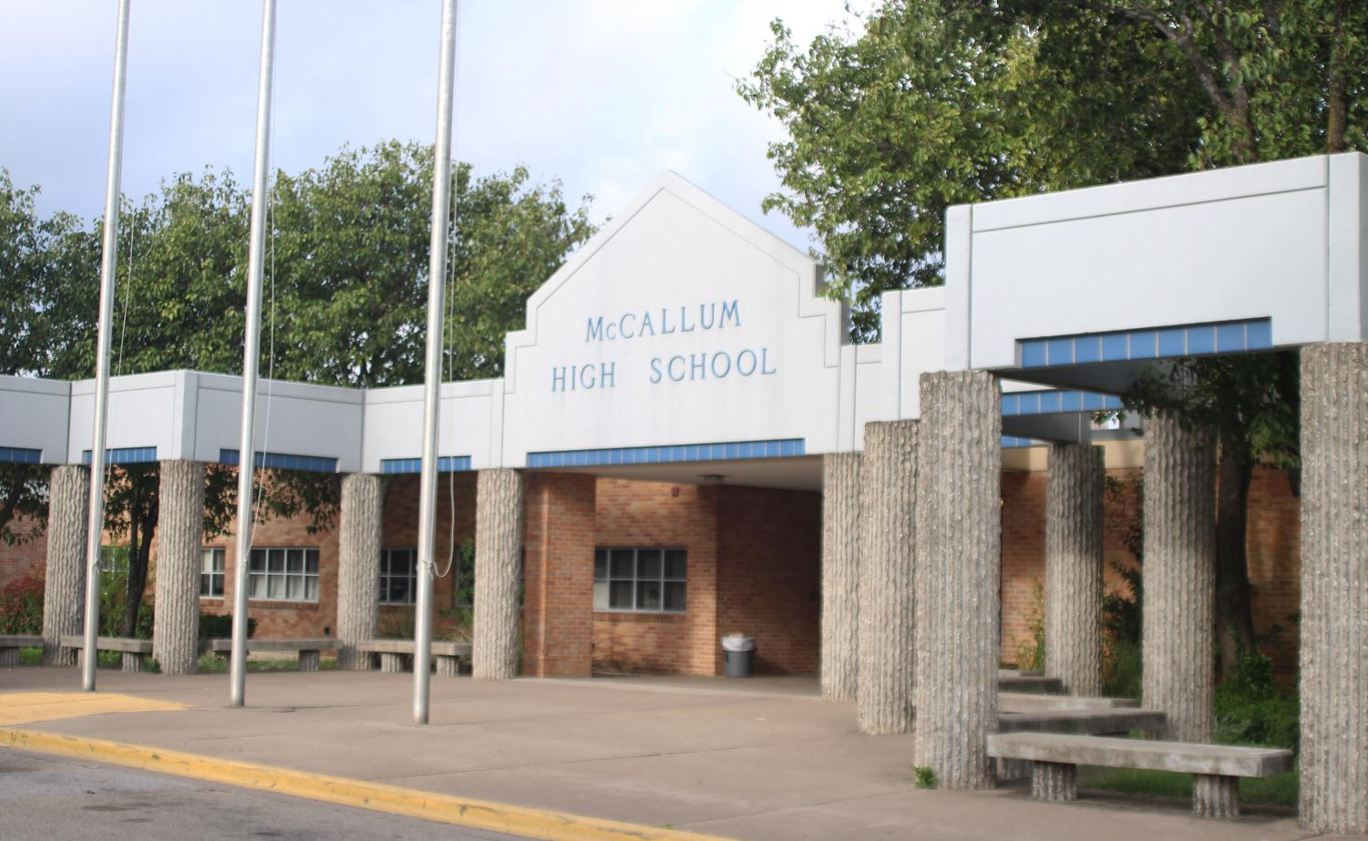 McCallum High School got a 92 out of 100 when evaluated by the Texas Education Agency.  This was the third-highest grade out of all of AISD High Schools, and was even higher than AISD's average grade, an 89. Though McCallum got a great grade, not all schools did.  Photo by Sarah Slaten.