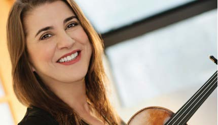 Pro violinist to play with orchestra