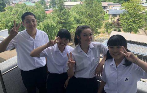 Junior enjoys summer study in Japan