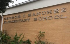 Sanchez Elementary is another East Austin school that has a large number of native Spanish-speaking students. Schools like Sanchez used to be much more common, but because of gentrification many of the minority and lower-income families have had to move to nearby cities. Photo by Andrew Klager.