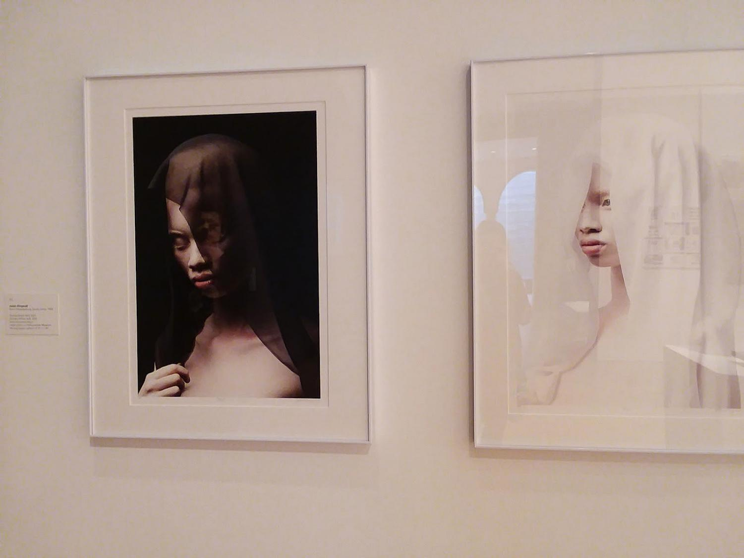 """Black Veil"" and ""White Veil"" from the Albus by Justin Dingwall. Photo by Olivia Watts."