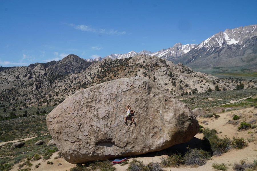 'Climbing just for climbing's sake'