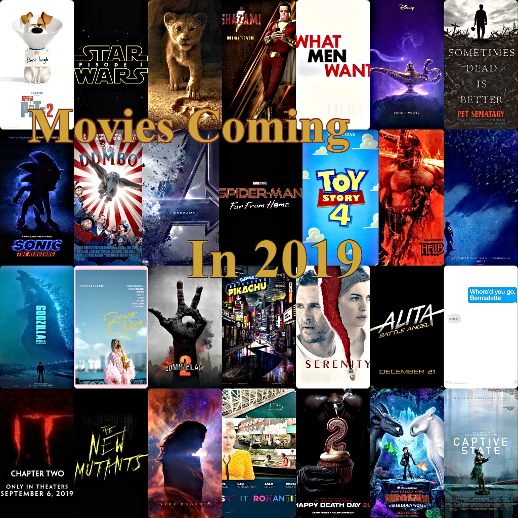 Out of all the movies coming out this year, McCallum students are showing the most interseted in Infinity War: Endgame, Spider-Man: Far From Home, Toy Story 4, Godzilla, King of Monsters, Sonic The Hedgehog, Detective Pikachu, IT Chapter 2, Joker, Child's Play, and Star Wars IX.