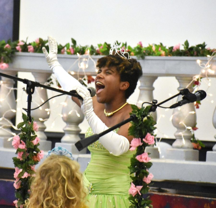 McCallum theatre students held their fourth annual Princess Tea Party fundraiser Saturday afternoon. With a packed auditorium, children from all over Austin got to see their favorite princes and princesses.