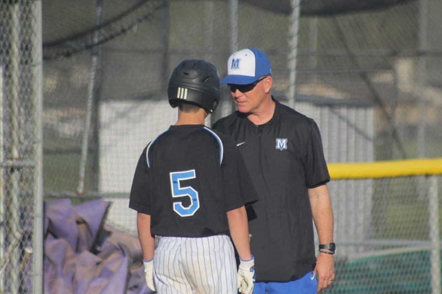 After seeing his leadoff hitter Jaxon Rosales steal three bases and hit a two-run single, Coach Steve Searle said that Rosales had all the makings of a future varsity player.