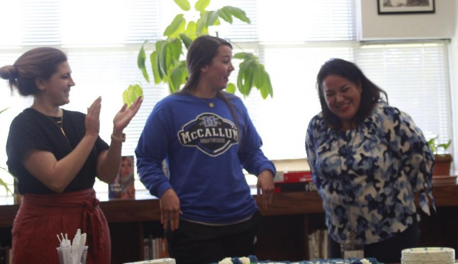 Not that Panchito cared of course, but Ms. Juana Gun was announced as the 2018-2019 Teacher of the Year in a lunchtime ceremony in the library on Jan. 29. The emotional Spanish teacher said that she has