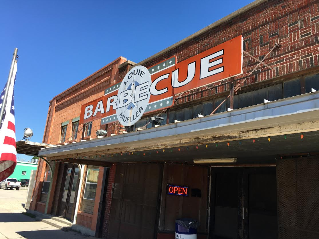 Louie Mueller barbecue in Taylor has been named the best in Texas by The New York Times, Food Network and several others. You'd be hard-pressed to find better barbecue.