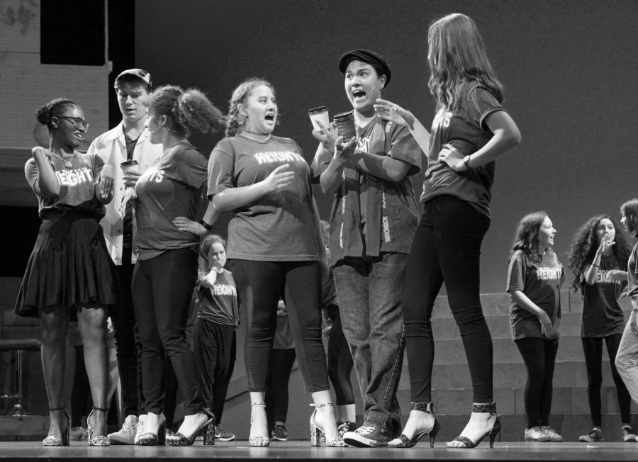 AISD summer theatre series preview event is black and white (photos