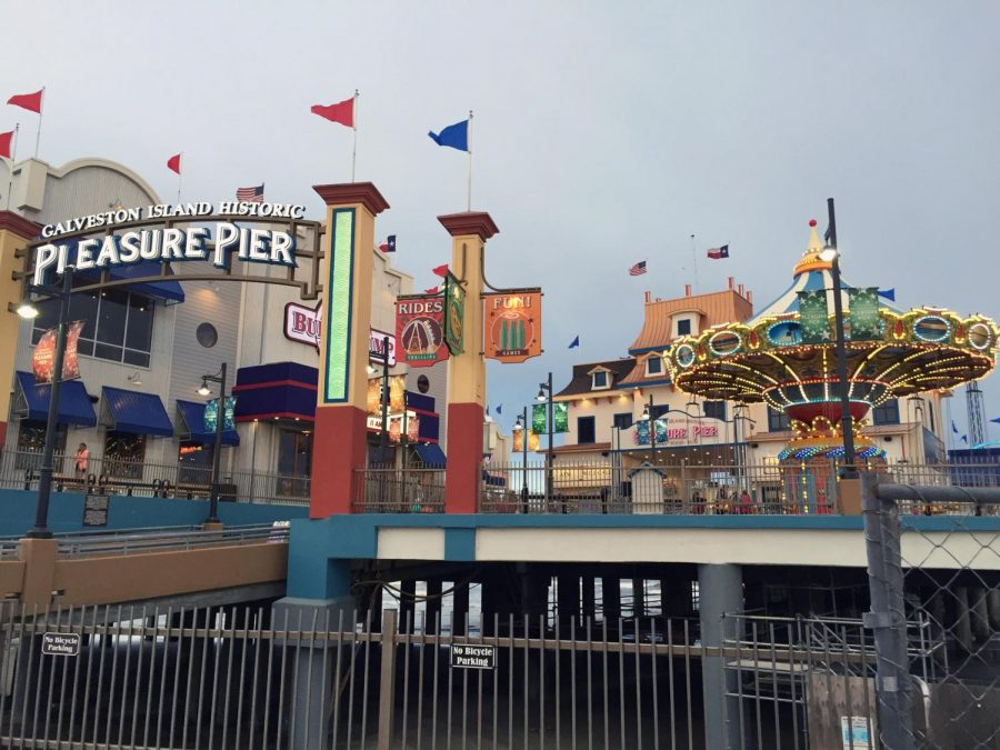 The+Galveston+Island+Historic+Pleasure+Pier+is+a+classic+amusement+park+that+stretches+100+feet+out+into+the+Texas+gulf+coast.+Although+built+in+2012%2C+it+is+a+recreation+of+the+famous+Pleasure+Pier+built+in+1943%2C+which+was+destroyed+in+by+hurricane+Carla+in+1961.+Photo+courtesy+of+the+Texas+Historical+Commission++