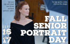 Fall senior portrait days set for Sept. 16 and 17