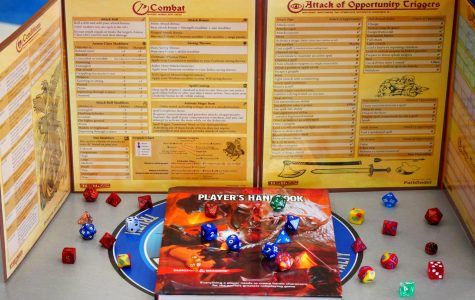 In order to play D&D, it's safe to have an official Players Handbook and dice for players. For Dungeon Masters, you should get the official Dungeon Master's Guide and a DM- screen, used to hide your plans from the players.