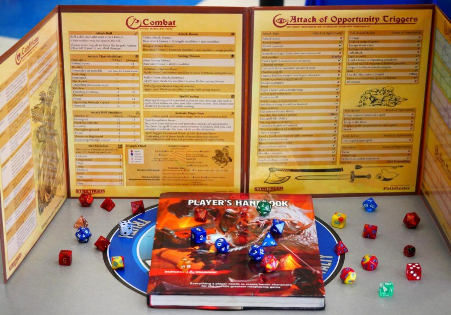 In+order+to+play+D%26D%2C+it%27s+safe+to+have+an+official+Players+Handbook+and+dice+for+players.+For+Dungeon+Masters%2C+you+should+get+the+official+Dungeon+Master%27s+Guide+and+a+DM-+screen%2C+used+to+hide+your+plans+from+the+players.
