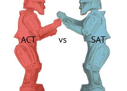 Want to avoid the SAT? ACT now.