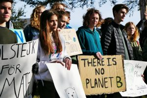 Students join coalition to combat climate crisis