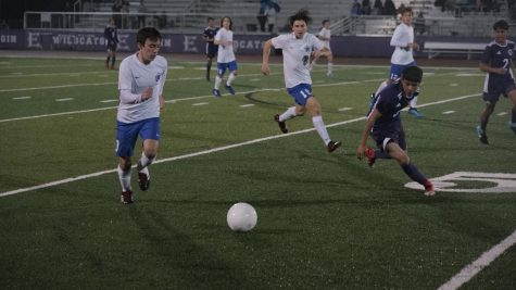 The first half was a battle of attrition for the Knights, but things opened up for them in the second stanza after forward Luis Auyero nutmegged an Elgin defender to make it 1-0. Photo by Javi Vela.
