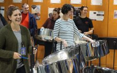 Teacher in-service proves that steel drum music is 'staff infectious'